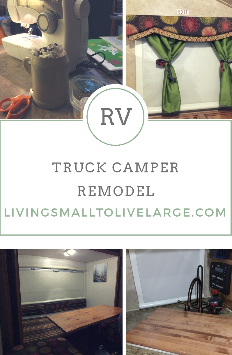Truck Camper Remodel Living Small To Live Large